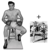 "*FAN PACK* - ELVIS AS BOXER FROM KID GALAHAD - LIFESIZE CARDBOARD STAND-IN (CUTOUT / STANDEE / STANDUP) - INCLUDES 8X10"" (25X20CM) STAR PHOTO - FAN PACK #141"