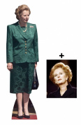 *FAN PACK* - MARGARET THATCHER - LIFESIZE CARDBOARD CUTOUT (STANDEE / STANDUP) - INCLUDES 8X10 (25X20CM) STAR PHOTO - FAN PACK #235