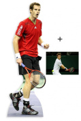 *Fan Pack* - Andy Murray Lifesize Cardboard Cutout (Standee / Standup) - Includes 6X4 (15X10Cm) Star Photo - Fan Pack #271
