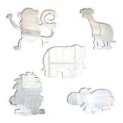 Mungai Mirrors 30cm Jungle Animals Set Acrylic Mirrors