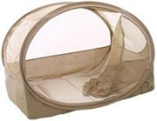 Koo-di Bubble Travel Cot Baby Bassinette in Cafe Creme