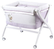 Naf-Naf Mini-Cot with Curved Stand and Textiles