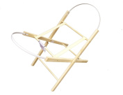 Wooden Moses Basket Folding Stand
