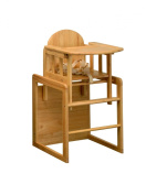 East Coast Combination Highchair - All Wood