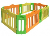 BABY VIVO 4-SIDE PLAYPEN - EXPANDABLE