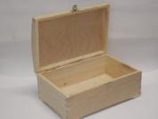 PLAIN WOODEN KEEPSAKE CHEST BOX PYROGRAPHY BOX DECORATE UNPAINTED SOUVENIR DIY