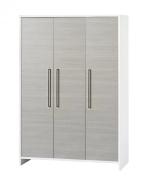 Schardt Wardrobe Eco Silver with 3 Doors