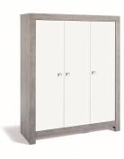 Schardt Wardrobe Nordic Driftwood with 3 Doors