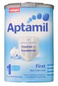 milupa aptamil first 6/900gm