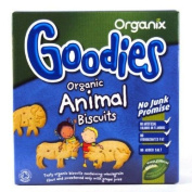 Organix 12 Month Animal Shaped Biscuits 100g