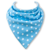 Baby Bandana Bib in BLUE STARS by Babble Bib
