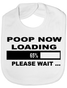 Poop Now Loading - Funny Baby/Toddler/Newborn Bib - Baby Gift