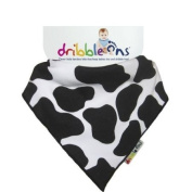 Dribble Ons Designer Bib in New 2012 Colour - Cow Print