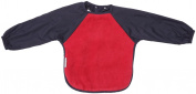 Silly billyz 4260406 Long Sleeve Bib Red and Navy Blue 18-36 Months