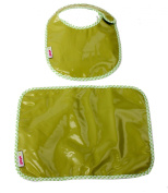 Minene Bib and Mat Set (Green)