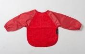 Mum2Mum Long Sleeved Wonder Bib 6-18 Months Colour RED