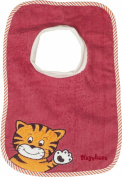 Playshoes 27 x 26cm Baby Slip-On Bib Tiger