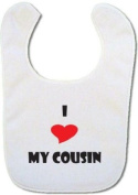 I love my Cousin baby bib