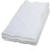 Muslin Squares 100% Cotton x 6 in WHITE