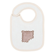 Câlin Câline Lulu 805.20 Bib Embroidered Caramel-Coloured
