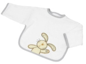 Be Be's Collection - bib - bunny - grey 33x45