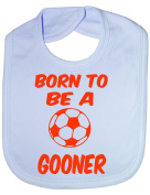 Born To Be A Gooner/Arsenal - Funny Baby/Toddler/Newborn Bib - Baby Gift