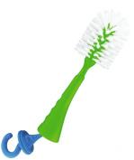 dBb-Remond 175009 Brush for Feeding Bottles Hook for Teats Translucent Green