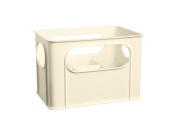 dBb Remond 177505 Crate for 6 Big or Small Bottles White