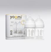 Yoomi 5 oz Feeding Bottle Slow Flow Teat