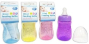First Steps - 150ML Feeding Bottle With Silicone Teat - Colour May Vary