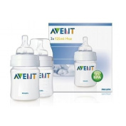 Philips AVENT Feeding Bottle PP, 125ml Set of 2 incl. accessories