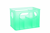 dBb Remond 177149 Crate for 6 Feeding Bottles Translucent Turquoise