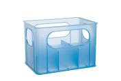 dBb Remond 177146 Crate for 6 Feeding Bottles Translucent Blue
