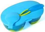 ON-THE-GO' - Travel Baby Feeding Bowl Set with Lid