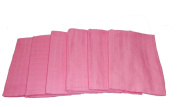 Muslinz Premium Muslin Squares 100% Cotton Supersoft High Quality x 6 in PINK