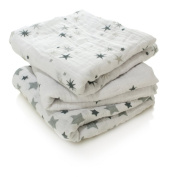 aden + anais Twinkle Twinkle 100% Cotton Muslin Square Musy