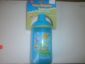 Little Monster Blue Plastic Super Sipper Cup - 414ML 14oz - 12 Months +