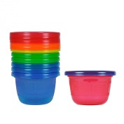 The First Years Y1301MP Pots with Lid 133 ml Pack of 7