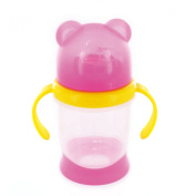 DBD Remond 215018 Toddler's Drinking Cup Bear Translucent Pink