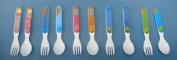 Kids Melamine Fork / Spoon 4 PER PACK