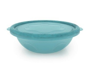 Griptight - 4 Rinse Or Recycle Bowls Blue & White