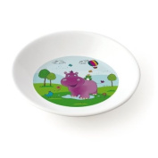 Plastorex 8102 HI Child's Bowl Melamine White with Motif