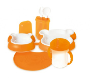dBb-Remond 212007 Child's Tableware Set Bear Design Orange