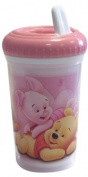 """Spel 004629 Beaker with Spout """"Winnie the Pooh"""" Theme Pink"""