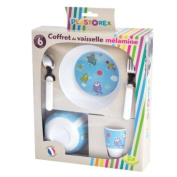 Plastorex 70 0935 50 Children's Tableware Set Melamine