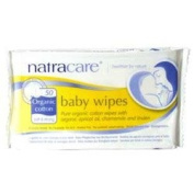 Natracare Org Cotton Baby Wipes 50'S