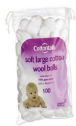Cottontails Cotton Wool Balls 1.1g 100's X 12,