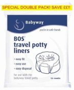 **Babyway Travel Potty Liners 2 pack** 20 LINERS!!