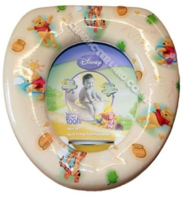 Winnie The Pooh Soft Potty Training Seat For Kids
