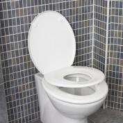 Rymax Family Toilet Seat Polypropylene Gloss White